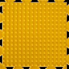 """Орто-коврик """"Шипы"""" желтый 1шт 25см*25см модульный коврик Орто (ОРТОДОН)"""