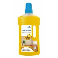 Средство для мытья полов (цитрус) 1л Prosept Multipower Концентрат 1л