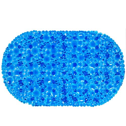 Spa-коврик для ванны AQUA-PRIME 67*38см Линза (синий)