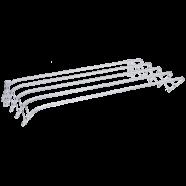 Сушилка для белья настенная ЗМИ Бриз 60 СН225, 3 м, белый