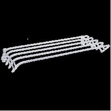 Сушилка для белья настенная ЗМИ Бриз 90 СН231, 4,5 м, белый