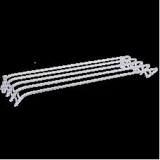 Сушилка для белья настенная ЗМИ Бриз 120 СН228, 6 м, белый
