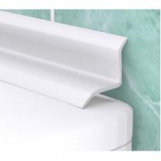 "Бордюр на ванну ""Ласточка"" L=1,8м белый (Профиль ПВХ)"