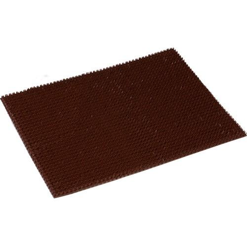 24101 Коврик 45*60см ТРАВКА на ПВХ основе тёмно-коричневый VORTEX