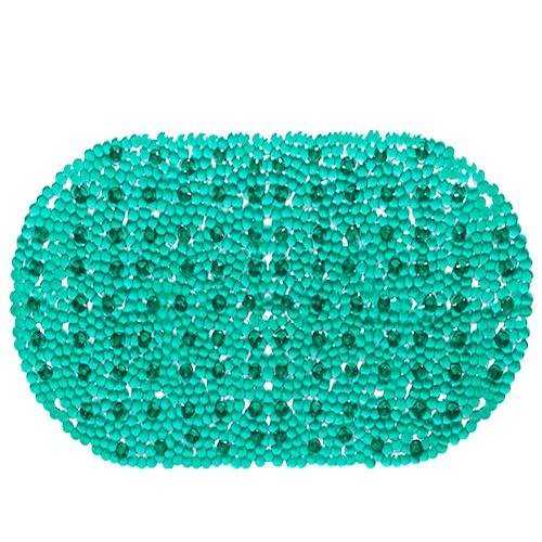Spa-коврик для ванны AQUA-PRIME 66*37см Золушка (бирюзовый)