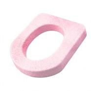 Сидение для унитаза пенопласт розовое 43 х 38см