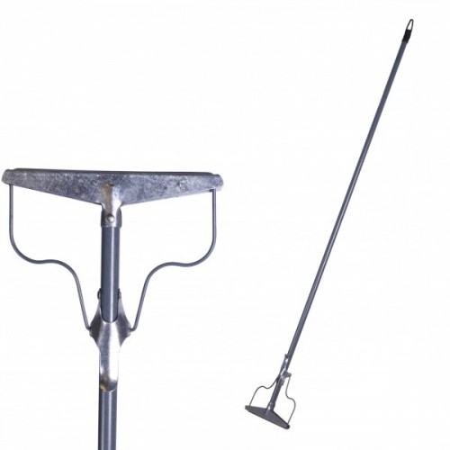 Тряпкодержатель Летяга Макси ТЛ1М5, черенок 1,52м, ручка металл, держатель металл 20 см
