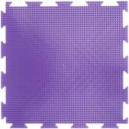 """Орто-коврик """"Трава"""" жесткий фиолетовый 1шт 25см*25см модульный коврик Орто (ОРТОДОН)"""