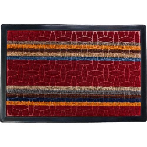Коврик придверный COMFORT 40*60см красный VORTEX арт.22383