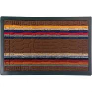 Коврик придверный COMFORT 45*75см коричневый VORTEX арт.22386