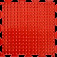 """Орто-коврик """"Шипы"""" красный 1шт 25см*25см модульный коврик Орто (ОРТОДОН)"""