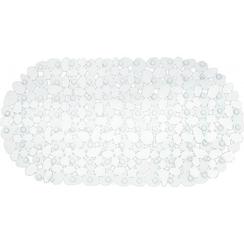 Spa-коврик для ванны AQUA-PRIME Морская Галька 69*39см (белый)