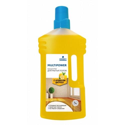 Multipower Средство для мытья полов (цитрус) 1л Prosept Концентрат