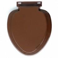 Сидение для унитаза Крисвер коричневый