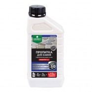 Пропитка для камня. Концентрат. Гидрофобизирующий состав. Защищает от воздействия осадков. Придает материалам водоотталкивающие свойства. PROSEPT AQUAISOL 1л