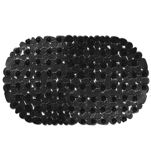 Spa-коврик для ванны AQUA-PRIME Морская Галька 69*39см (черный)