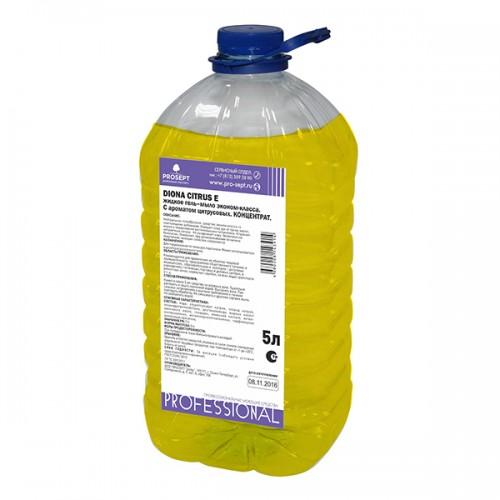 Жидкое крем-мыло с ароматом цитруса 5л Prosept Diona Citrus 5л ПЭТ