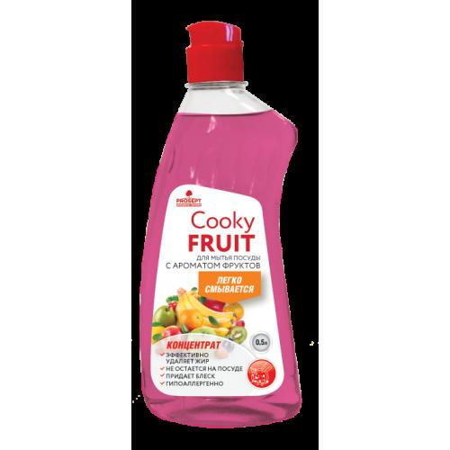 Cooky Gel Fruits для мытья посуды вручную с ароматом фруктов концентрат