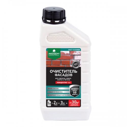 Очиститель фасадов. Концентрат. Средство для удаления высолов и солевых отложений на минеральных строительных материалах PROSEPT SALT CLEANER 1л