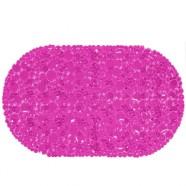 Spa-коврик для ванны AQUA-PRIME 67*38см Линза (розовый)