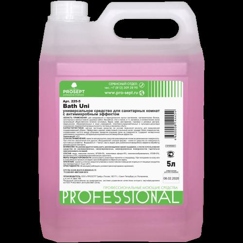 Bath Uni 5 л Универсальное средство для санитарных комнат с антимикробным эффектом PROSEPT