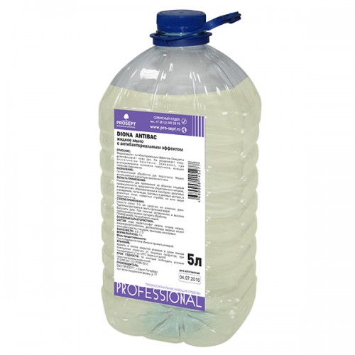 Diona Antibac 5л Жидкое мыло с антибактериальным эффектом