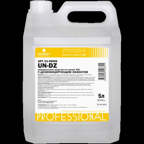 Антисептик UN-DZ 5л Универсальное средство с дезинфицирующим эффектом (на основе ЧАС) PROSEPT
