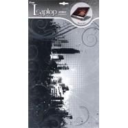 Наклейка для ноутбуков ROOM Decor (Город), размеры 25,5см*39см,1 элемент, материал: ПВХ NBA 0510